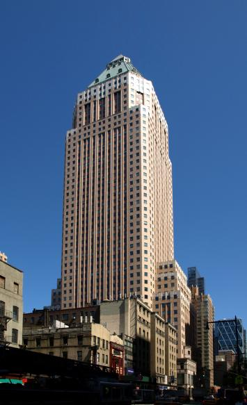 825 Eighth Avenue, One Worldwide Plaza Office Space