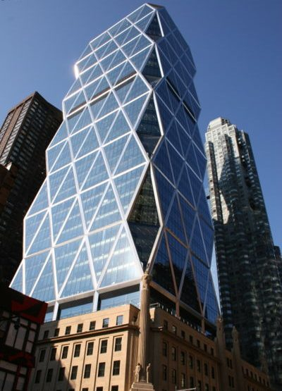 Hearst Tower, 300 West 57th Street Office Space