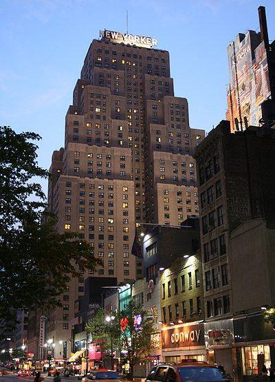 481 Eighth Avenue, The Wyndham New Yorker Hotel