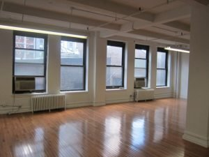 Brooklyn Office was Once Industrial Space