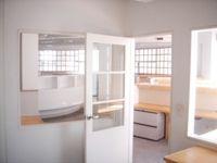 Madison Ave (29 Street) full floor office. Exposed ceilings, oversized windows