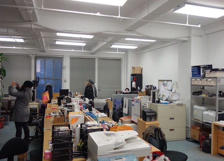 545 Eighth Avenue office loft for lease