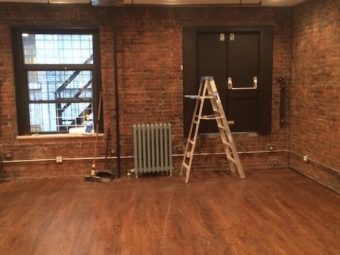West 37th Street, Hardwood Floors, Brick Walls