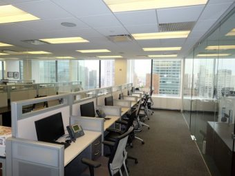 Third Avenue, Office Sublease, Above Standard Build Out