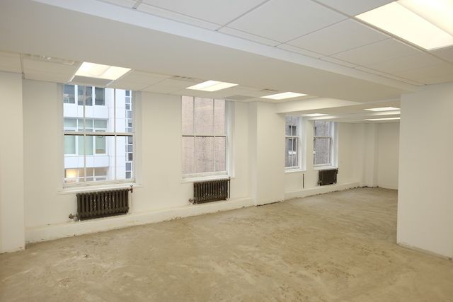 5 East 45th Street Corner Office Rental, Near Grand Central, Landlord to Build