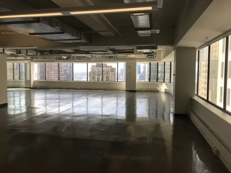 Full Floor Prebuilt Office for Lease at 56 Broadway