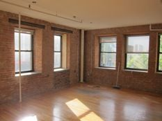 315 Spring Street, Exposed Brick, Wood Floors, Beamed Ceilings