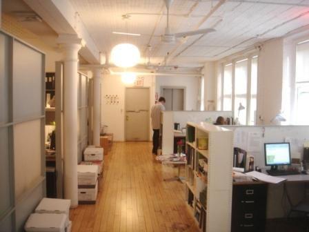 51-53 Hudson Street, Sunny Tribeca Loft-Perimeter Offices