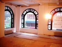 Full Floor Loft Space-Column Free, Arched Windows, Bright.