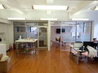 Madison Avenue Office with Hardwood Floors, Open Ceiling
