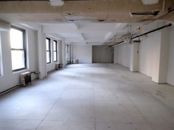 White Box, 2,255 SF, Office Space, Downtown NYC, Build to Suit