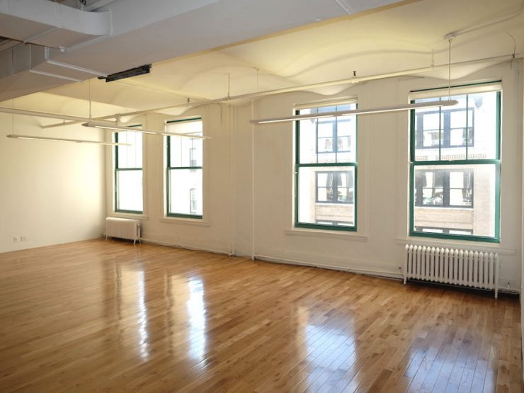 20 West 21st Street, Loft Office Rental, Wet Pantry, Private Bathroom, Hardwood Floors