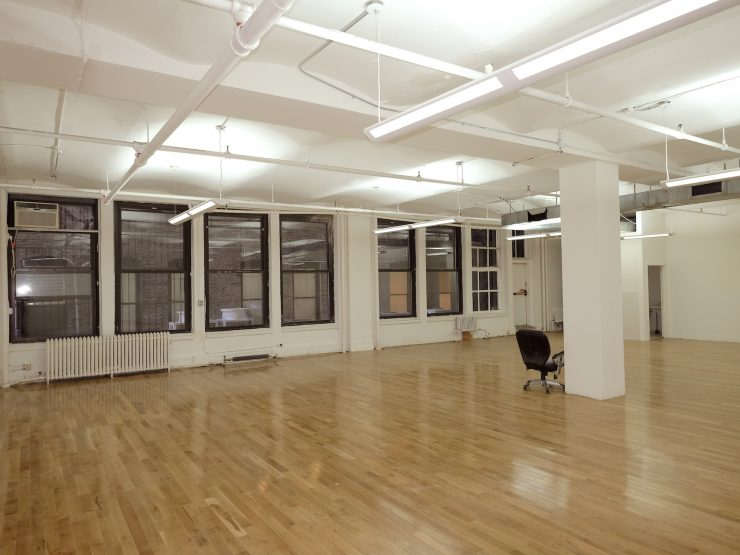 Budget office rental with hardwood floors