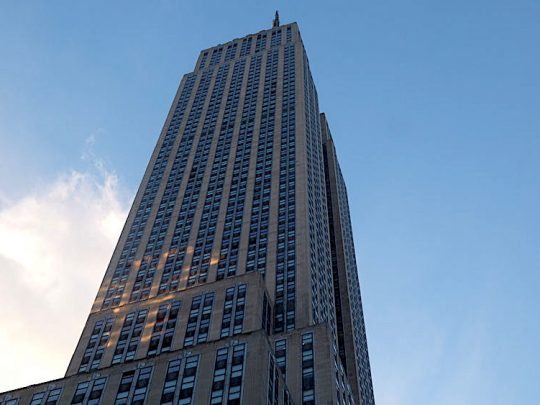 New York CIty's Most Famous Office Building, The Empire State Building