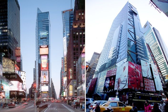 Times Square Tower (courtesy of Turner Construction)
