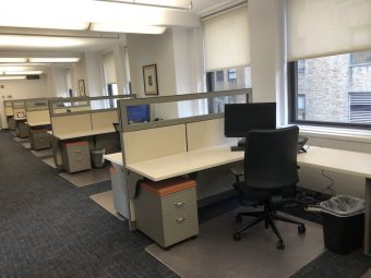 Office Intensive Financial District Sublet, Plug & Play-Furniture, Phones-Bright