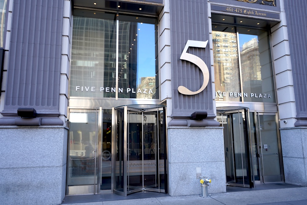5 Penn Plaza Office Space for Lease