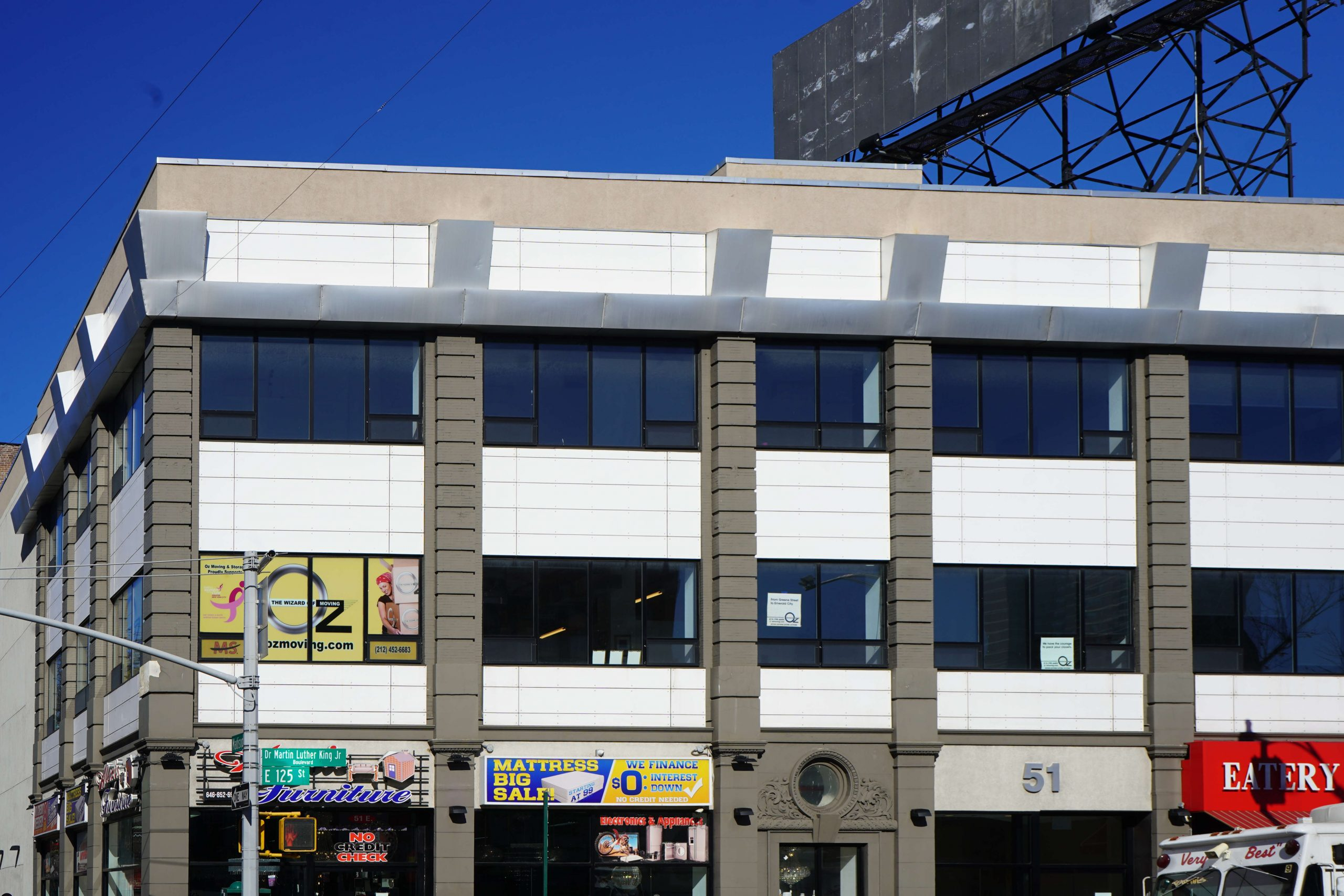 55 West 125th Street Office Space for Lease