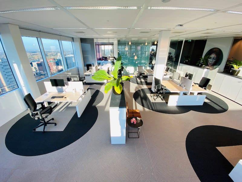 Cushman & Wakefield's Six Feet Office