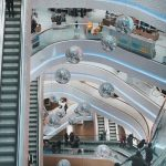 Retail spaces turned into creative office space