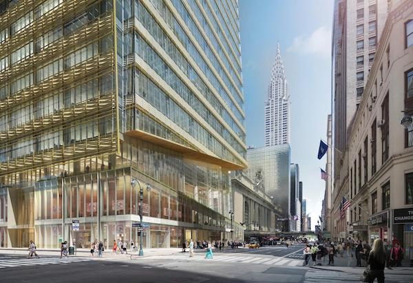 One Vanderbilt tower base | Metro Manhattan Office Space