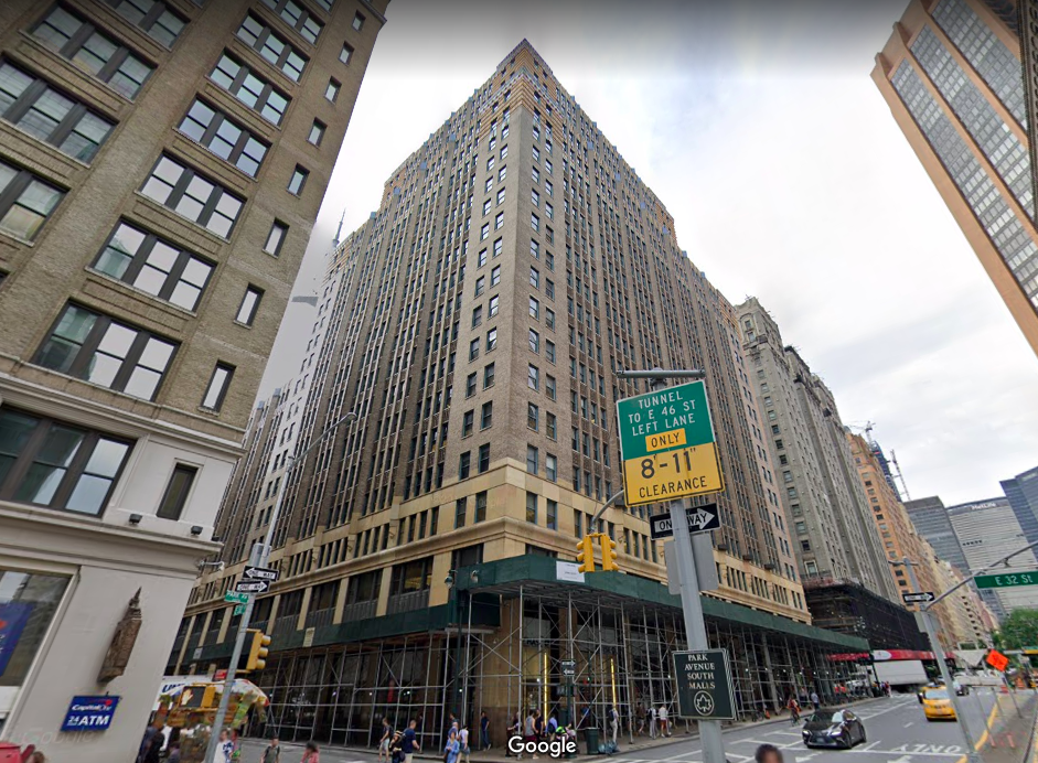 2 Park Avenue Office Space for Lease