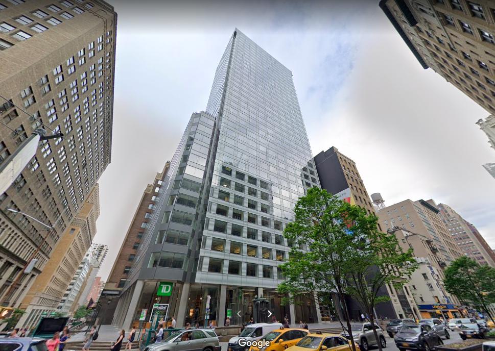 475 Park Avenue South Office Space