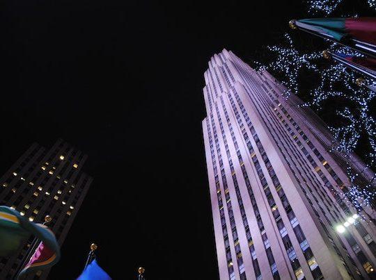 The Rockefeller Center Christmas Tree | Metro Manhattan Office Space