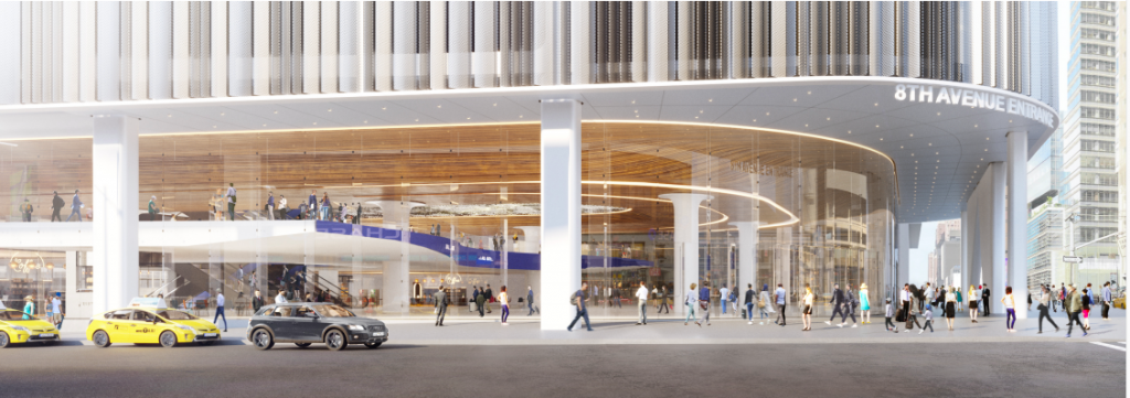Midtown Bus Terminal rendering | Metro Manhattan Office Space