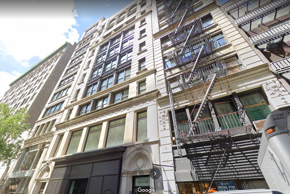 57 East 11th Street Office Space for Lease
