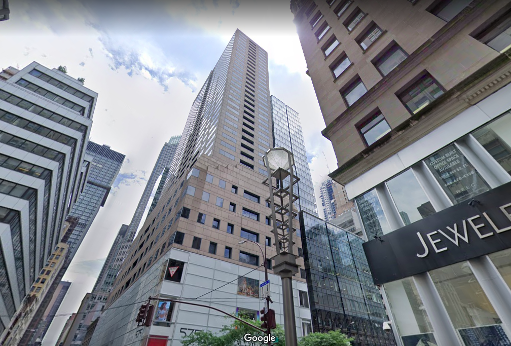 575 Fifth Avenue Office Space for Lease