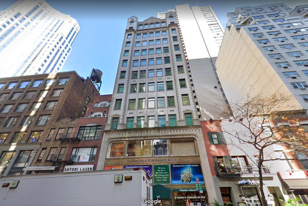 145 East 57th Street, The Hammacher Schlemmer Building Office Space