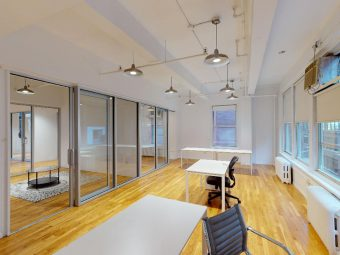 Glass Offices, Terrace, Exposed Ceilings, Affordable-West 37 Street