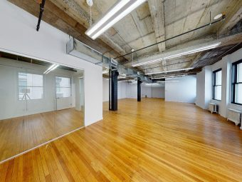 5th Avenue Office Rental-12′ Ceiling Height & Oversized Windows