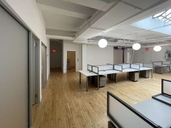 Charming  West 24 Street Office with Skylights