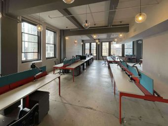 30th Street & Broadway, Corner Loft Office with Oversized Windows