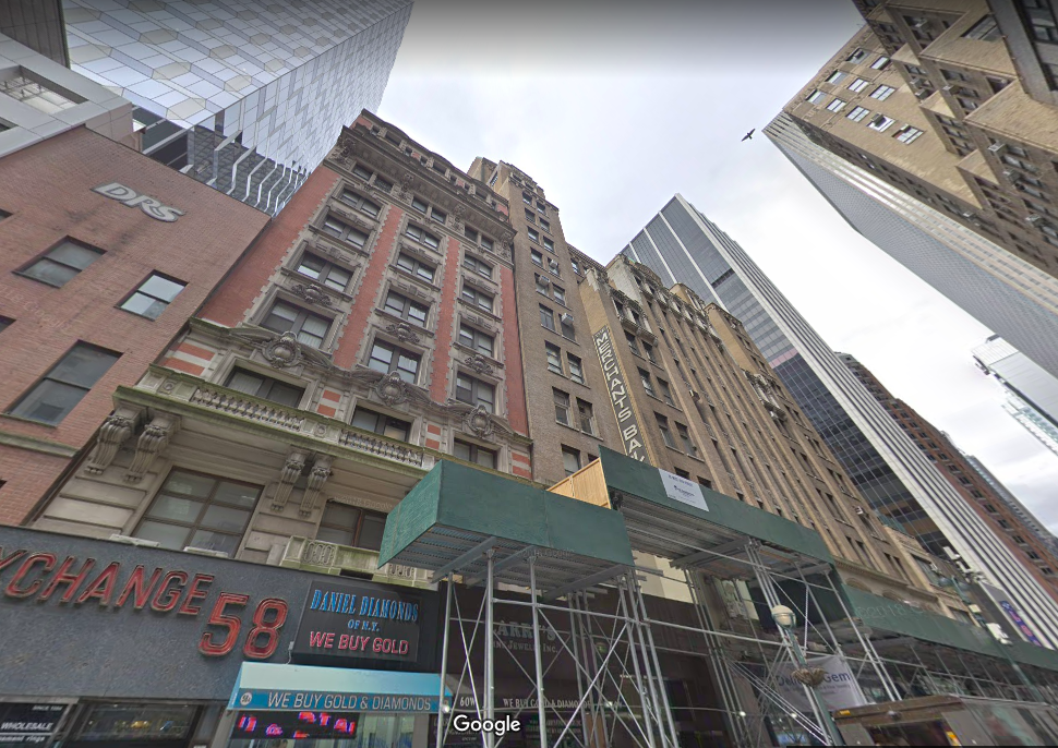 62 West 47th Street Office Space for Lease