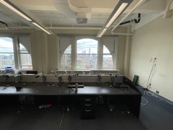 Fifth Avenue Luxury Office Rental with Arched Windows