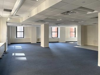 Corner Office Rental with Bullpen & 1 Office
