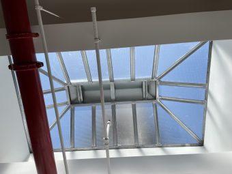 West 20th Office Loft Rental with Skylight