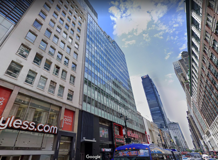 112 West 34th Street Office Space for Lease